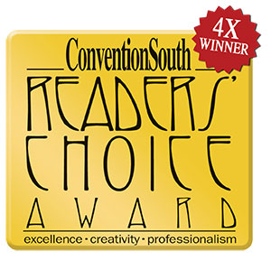 Convention South Readers Choice Award Seal